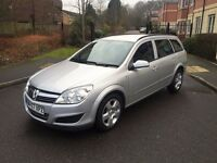 VAUXHALL ASTRA ESTATE 1.6 PETROL,10 MLONTHS MOT,LOW MILEAGE,1 OWNER.