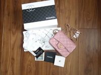 Chanel classic mini with gold hardware / colour as per pics / brand new