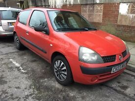 Renault Clio Expression 16v 2003 1.2 Petrol AUTOMATIC
