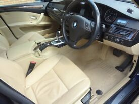 2009 BMW 520D SE AUTO CREAM LEATHER FSH LIKE 525 530 AUDI A6 VW PASSAT MERCEDES E220 E250 E270 C220