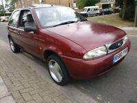 Ford Fiesta 1.25 Zetec S 16v R reg 1998, only 87.000 HPI Clear £295