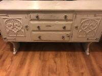 Shabby Chic Solid Oak Sideboard
