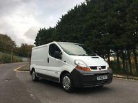 2002 Vauxhall Vivaro 1.9Dci swb van for sale 119k MILES 8 months MOT TAXED like Trafic and Primastar