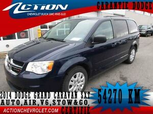 2014 Dodge GRAND CARAVAN SXT,STOW&GO,7 PASS,V6