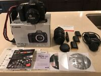 Canon EOS 5D Mark II 21.1 MP Digital SLR Camera plus other kit
