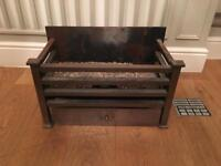 Inset Gas Fireplace - Stovax Amhurst Gas Fire Basket With Ashpan Cover