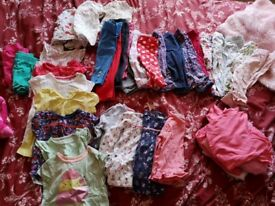Girls bundle 6 to 9 months