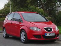 Seat Altea 1.9 TDI Reference 5dr£1,799 p/x welcome 1 OWNER,FULL SERVICE,FULL MOT