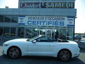 2015 Ford MUSTANG CONVERTIBLE ECOBOOST PREMIUM CUIR + AUTOMATIQU