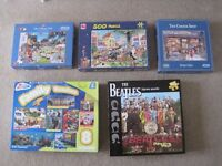 Jigsaw puzzles - including THE BEATLES
