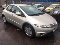 Stunning 2008 58 Honda Civic 1.4Se 5Dr **2 Owners+Only 74000+1 Years Mot**
