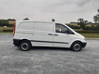 2007 MERCEDES-BENZ Vito 109 CDi Compact SWB Panel Van
