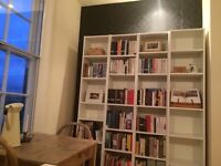 Scandi chic bookshelves, ikea classic, only 4 months old and all assembled!