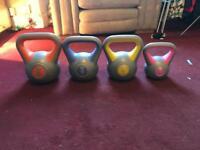 Set of kettle bells 2kg-8kh