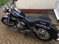 Keeway Superlight 125cc Motorbike Ultra low mileage for age, Less than 600 miles on the clock.