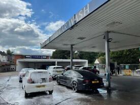 Hand carwash & garage for sale