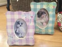 SHOP CLEARANCE New two vintage style photo frames