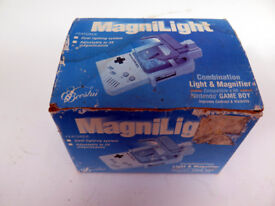 Boxed Rare Nintendo Gameboy Magnilight Adjustable Magnifier with Light