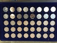 50 Pence Collection