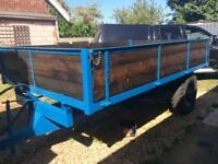 Tipper trailer, tractor ,