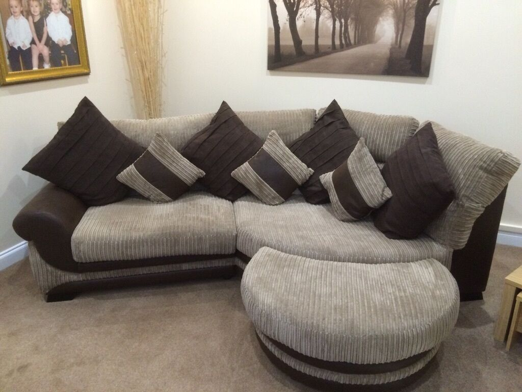 Stunning Scs Kirk Corner Sofa Matching Chair Amp Foot Stool