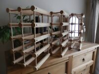 Wooden bottle/wine racks