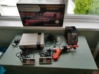 Nintendo Entertainment System (NES) & 7 Games