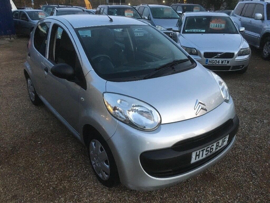 2007 CITROEN C1 AIRPLAY 1.0 SILVER 5DR HATCHBACK