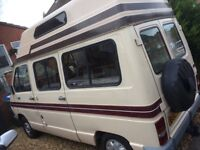 Renault traffic camper van 4 berth