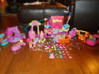 Polly pocket Rockin Theme Park & other items