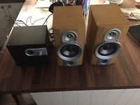 Philips sub with JVC speakers