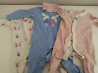 Baby clothes bundle M&S and Next 0-3 months