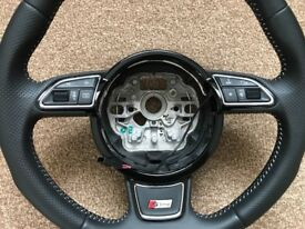 Audi A1 Sline Steering wheels in nearly Brand New condition.