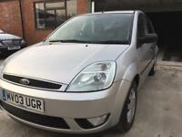 Ford Fiesta Ghia. Mot with no advisories. Loads of service history. Low miles 98k