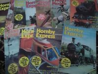 Vintage 1970s hornby express magazines