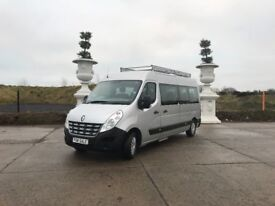 *** 2012 RENAULT MASTER LM 39 DCI 17 SEATER MINI BUS ONLY 24000 MILES FOR NEW !!!