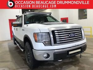 2010 Ford F-150 XLT 4X4 V8- SUPER CREW- HITCH- MARCHEPIEDS!!