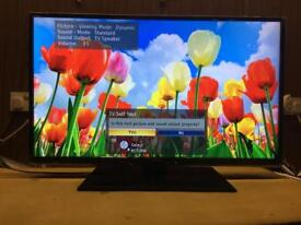 "Panasonic 40"" LED Tv slim Design Excellent Condition Warranty Free Delivery"