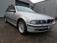 2000 BMW 530d SE Touring Automatic Diesel Estate, 18 stamp sevice history, 5 Series 2.9 AUTO
