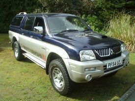 MITSUBISHI L200 4 LIFE 2005 TURBODIESEL WITH CANOPY