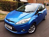 Ford Fiesta Zetac 1.2 Petrol 2011 (61 plate) Manual only 22k Miles Long MOT Alloys 5 Door 2 Keys