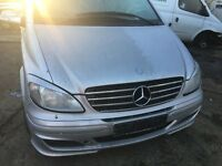 mercedes Vito Van 2007 silver Bonnet all parts available