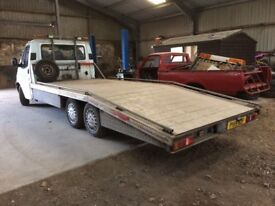 Ford Transit Smiley Recovery Car Transporter Truck Spares or repairs