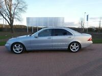 2005 MERCEDES S320 L CDI SE AUTOMATIC - TOP OF THE RANGE - WIDESCREEN TV/SAT NAV - BARGAIN !!