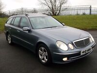 06 MERCEDES E320 CDI AUTO *7 SEATER* SUNROOF! 4 MATIC! ESTATE A4 A6 330D 530D 520D C220 C270 PASSAT
