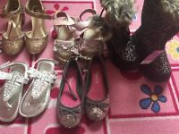 5 pairs of girls shoes - size 10 (children size) - Monsoon, Next etc...