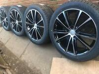 "Brand New VW Transporter T5 T6 20"" alloy wheels +new tyres RRP£1000 CAN POST"