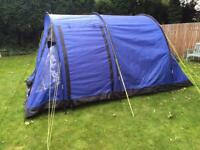 4 Man tent with free separate 2 man tent