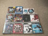 PS3 plus games. Needs new controller and optical drive might be on its way out.