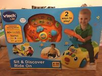 Vtech ride and discover new in box